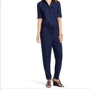 RALPH LAUREN NAVY JUMPSUIT